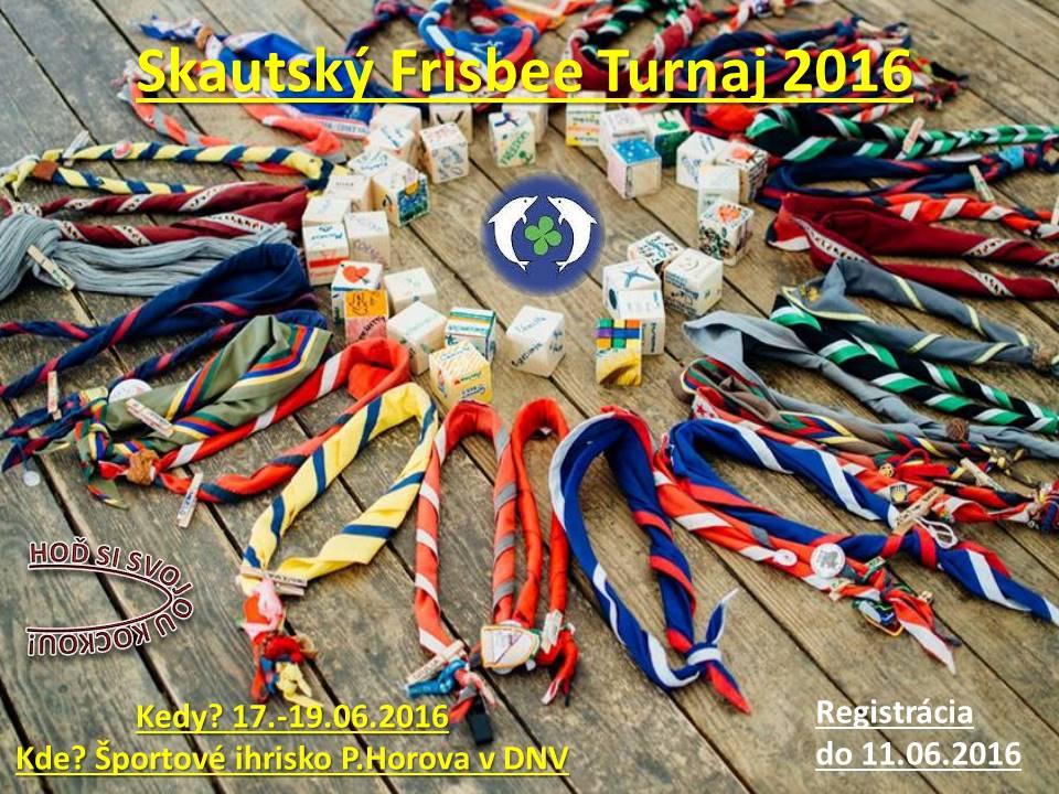 pozvanka na frisbee turnaj2016